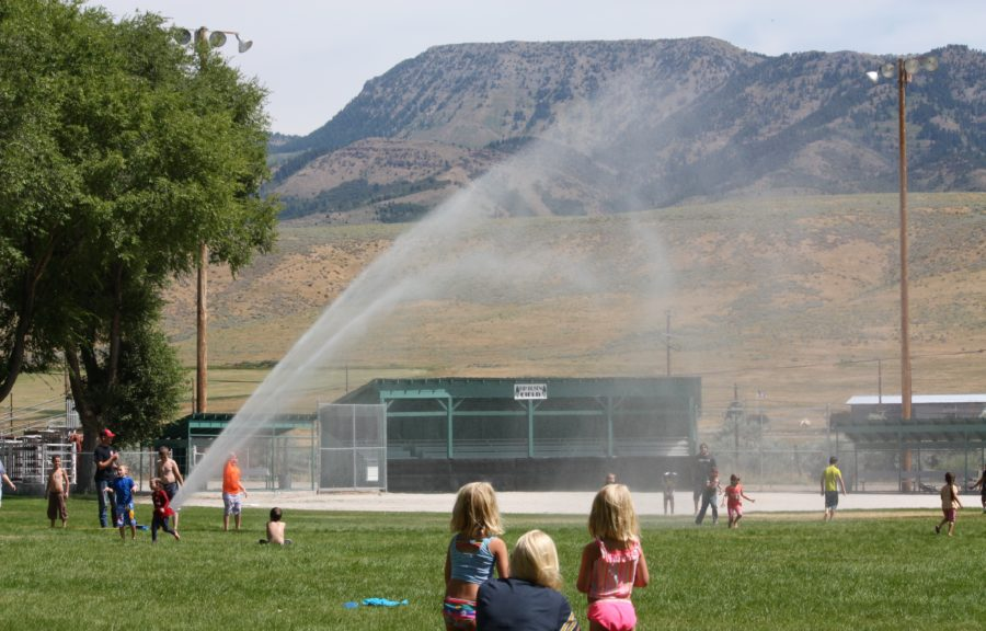 2019 Rain in the Park Event hosted by the McCammon Volunteer Fire Department