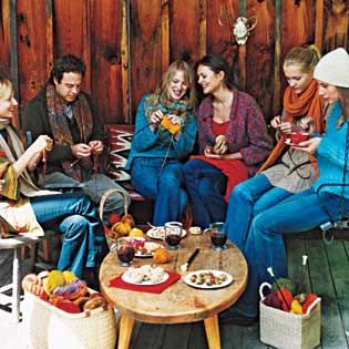 Here's a fun idea: Host gatherings with fellow artisans during the winter months in preparation for the 2020 market! —MAC