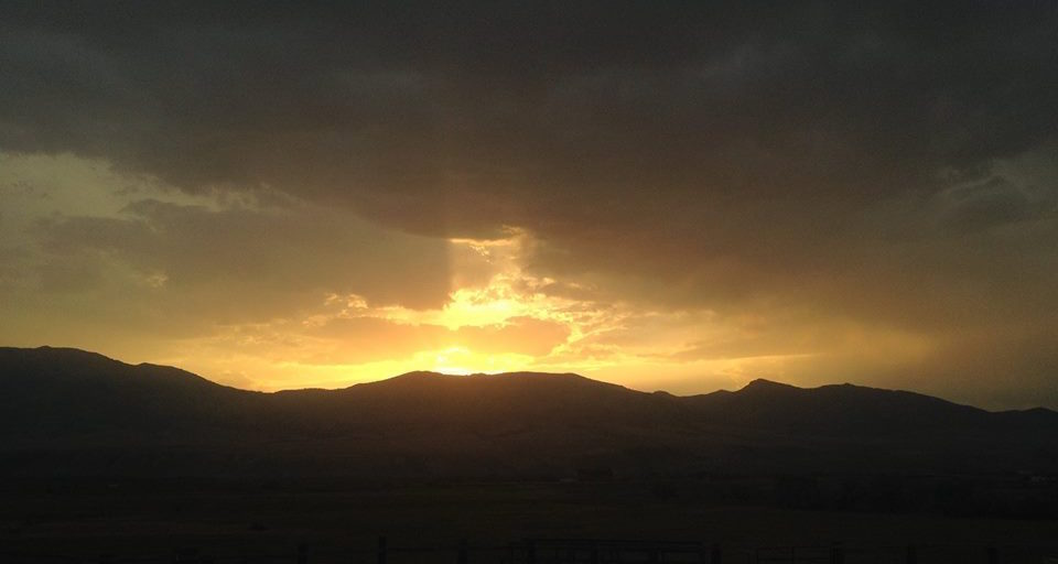 Sunset, McCammon Idaho by LeAnn B.